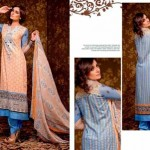 Unique Crinkle Chiffon Lawn Collection 2014 Vol-1 By Ajwa Textile. 3
