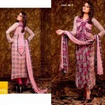 Unique Crinkle Chiffon Lawn Collection 2014 Vol-1 By Ajwa Textile. 4