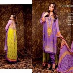 Unique Crinkle Chiffon Lawn Collection 2014 Vol-1 By Ajwa Textile. 5