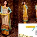 Unique Crinkle Chiffon Lawn Collection 2014 Vol-1 By Ajwa Textile. 8