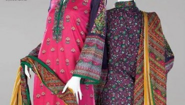 Al Karam New Summer Dresses 2014 for Women 2