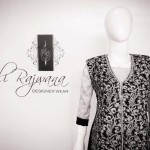 Ali Rajwana Summer Dresses 2014 For Girls