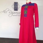 Ali Rajwana Summer Dresses 2014 For Girls 5