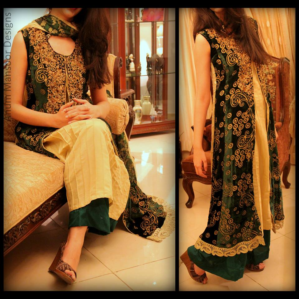 Anum Mansoor Formal Dresses 2014 For Summer