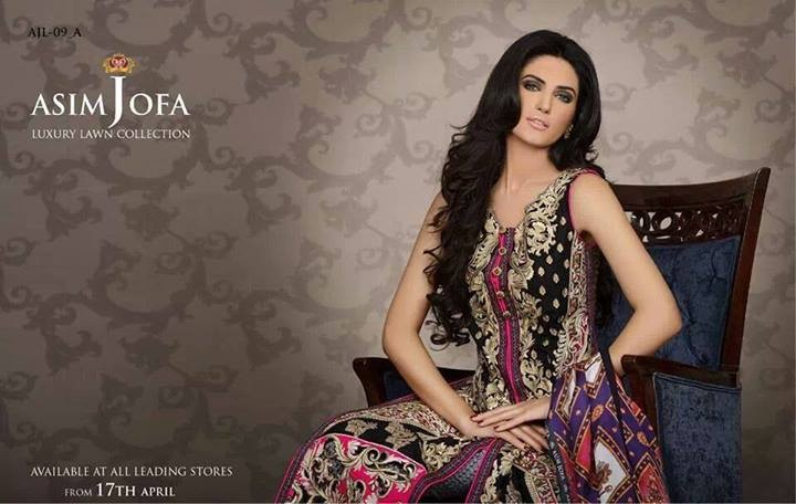 Asim Jofa Lawn 2014 Dresses for Women 1