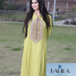 Barira Collection Summer Dresses 2014 For Women 2