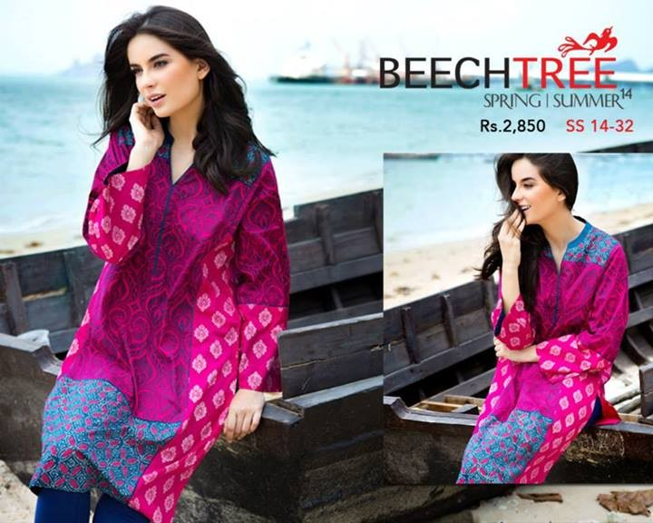 Beech Tree Spring Summer Dresses 2014 for Women 4