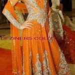 Bridal mehndi dresses collection 2014 9