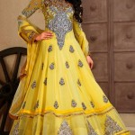 Checkout these Long Party Wear Anarkali Dresses. 3