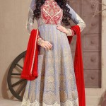 Checkout these Long Party Wear Anarkali Dresses. 5