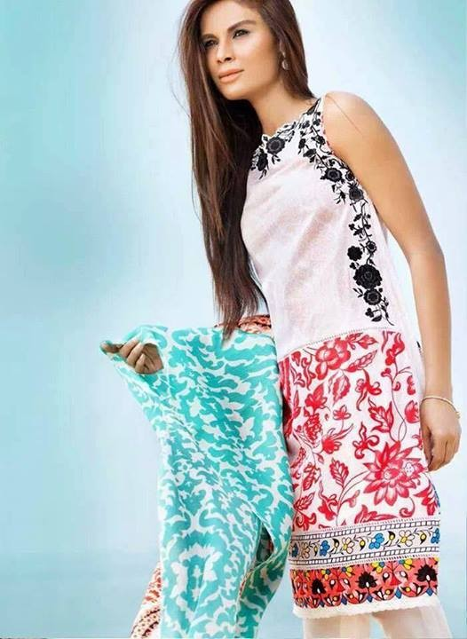 Coco Summer Dresses 2014 By Zara Shahjahan 3