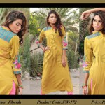 Evolution Textile embroidery dress collection 2014 1