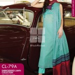 Gul Ahmed Embroidered Lawn Dresses 2014 For Women 3