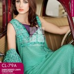 Gul Ahmed Embroidered Lawn Dresses 2014 For Women 6
