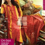GulAhmed Chunri Collection from Normal Summer 2014 1