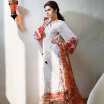 Mahnoush Lawn Dresses 2014 Volume 2 For Women 1