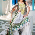 Mahnoush Lawn Dresses 2014 Volume 2 For Women