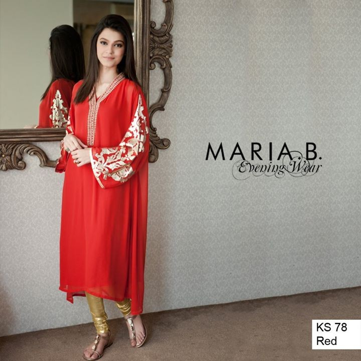 Maria B Summer Dresses 2014 for Women 1