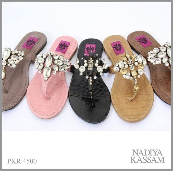 Nadiya Kassam Summer Footwear Collection 2014 For Women 1