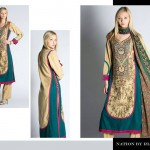 Nation by Riaz Art Lawn Prints 2014 For Summer 4
