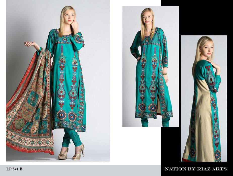 Nation by Riaz Art Lawn Prints 2014 For Summer 5