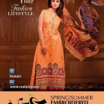 Nukshi Embroidered Dresses 2014 for Women 3