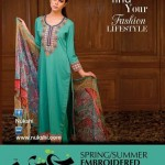 Nukshi Embroidered Dresses 2014 for Women 4