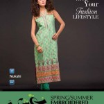 Nukshi Embroidered Dresses 2014 for Women 6