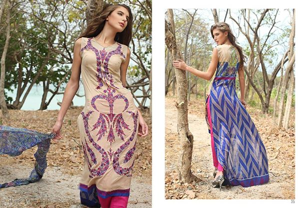 Orient Textiles Summer Dresses 2014 2nd Edition 3