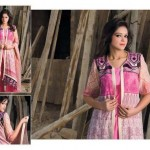 Pardesi Textile Umaimahs Embroidered Lawn Dresses 2014 For Women 1