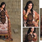 Pardesi Textile Umaimahs Embroidered Lawn Dresses 2014 For Women 3