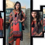 Pardesi Textile Umaimahs Embroidered Lawn Dresses 2014 For Women 4