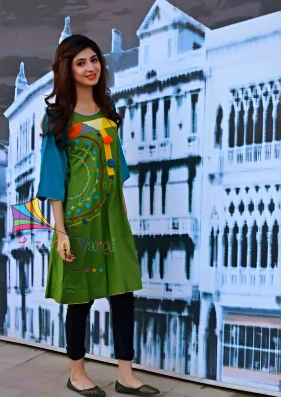 Patang Vargi Summer Dresses 2014 For Women 1