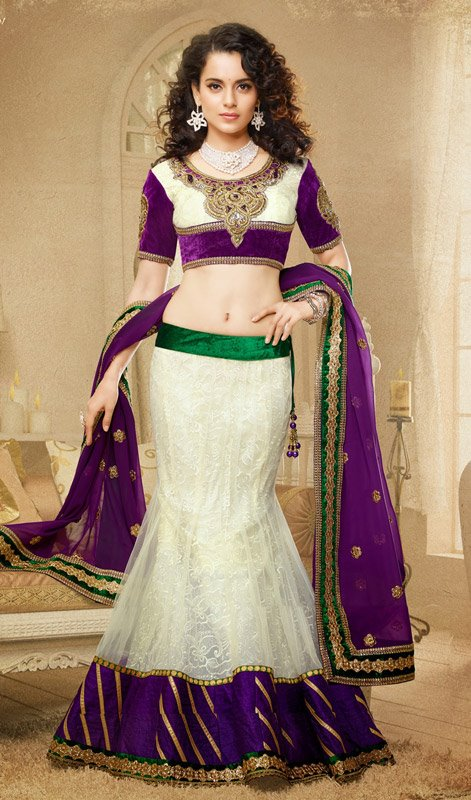 Queen Kangana Ranaut in Lehenga Choli.collection 2014 2