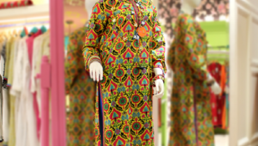 Rang Ja embroidery summer dress collection 2014 1