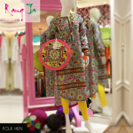 Rang Ja embroidery summer dress collection 2014 10