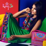 Rang Ja embroidery summer dress collection 2014