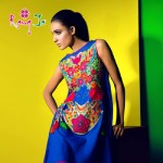 Rang Ja embroidery summer dress collection 2014 3