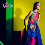 Rang Ja embroidery summer dress collection 2014 7