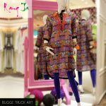 Rang Ja embroidery summer dress collection 2014 8