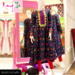 Rang Ja embroidery summer dress collection 2014 9
