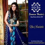 SamreenHaider Party Dresses 2014 For Summer 4