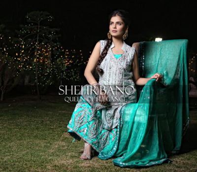 ShehrBano bridal dress collection 2014 5
