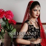 ShehrBano collection 2014 bridal dress collection 1