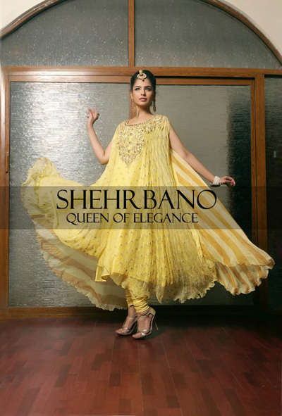 ShehrBano collection 2014 bridal dress collection  5