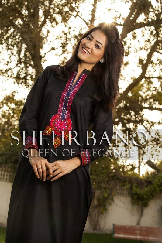 ShehrBano summer dresses collection 2014 8