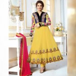 Sonali anarkali frocks collection 2014 6