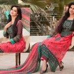 Star Krinkle Chiffon Lawn VOL.2 collection 2014
