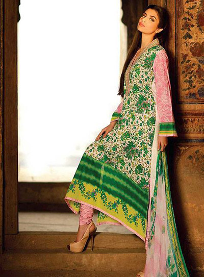 Umar Sayeed Spring Collection 2014 1
