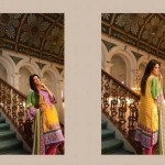 ZTM Embroidered Lawn Dresses 2014 For Women 2